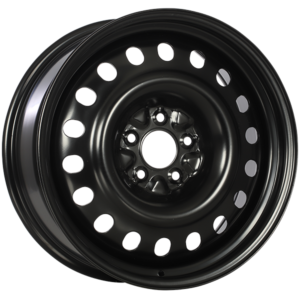 SW003 STEEL WHEEL Noir lustre